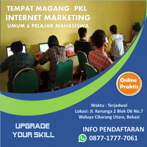 tempat magang internet marketing cikarang